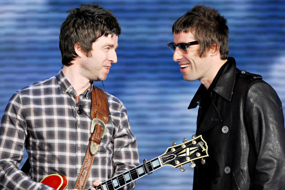 an overview of noel and liam gallagher of the band oasis